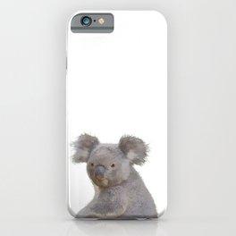 Grey Koala iPhone Case