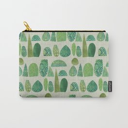 Watercolour Topiary Carry-All Pouch