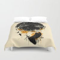 dragon ball z Duvet Covers featuring Once Upon a Time by nicebleed