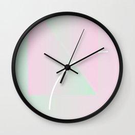 Geometric Calendar - Day 6 Wall Clock