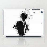 pulp fiction iPad Cases featuring Pulp Fiction Splatter Art by DanielBergerDesign