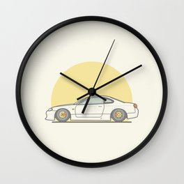 Nissan 200SX S15 Vector illustration Wall Clock
