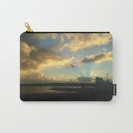 Sun Pierced Clouds Carry-All Pouch