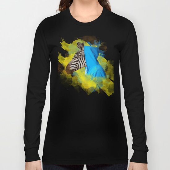 Gangsta Zebra Long Sleeve T-shirt