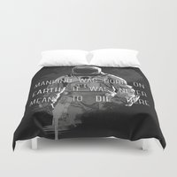 interstellar Duvet Covers featuring interstellar by Molnár Roland
