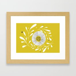 Yellow Day Framed Art Print