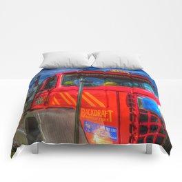 American Stunt truck Comforters