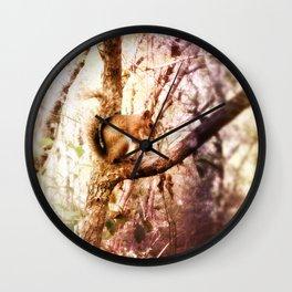 Nut Zipper Wall Clock