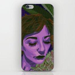 Canna-Queen iPhone Skin
