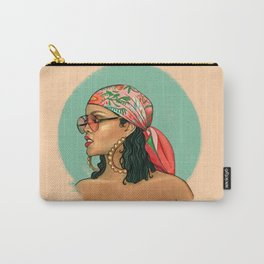 Rihanna Wild Thoughts Portrait Carry-All Pouch