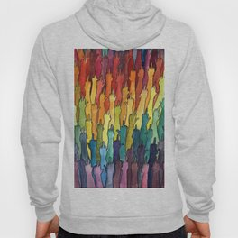 rainbow power Hoody