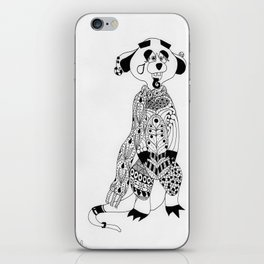 Malcolm the Maladjusted Meerkat iPhone Skin