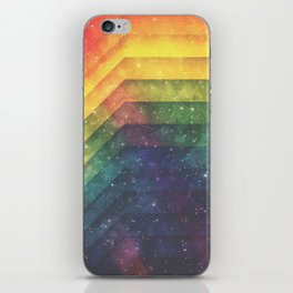 Time and Space iPhone Skin
