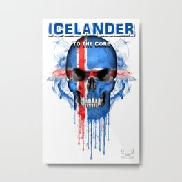 To The Core Collection: Iceland Metal Print