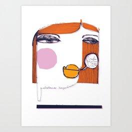 Nuda_1 Art Print