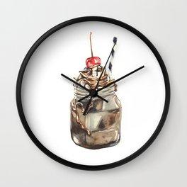 Milk Shake Wall Clock