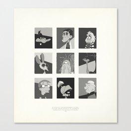 Super Mercredi Bros Heroes (6/8) Canvas Print