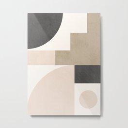 Geometric Abstract 105 Metal Print
