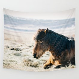 Horse pony nature Wall Tapestry