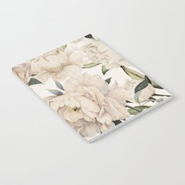 Peonies Pattern Notebook