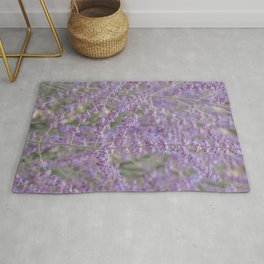 Lavender Field in Brussels Belgium Rug