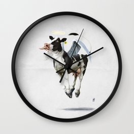 Holy Cow (wordless) Wall Clock