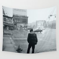 baltimore Wall Tapestries featuring Baltimore by Nick Coleman