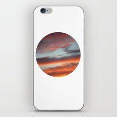 Berkshire Sunset I Circle iPhone & iPod Skin