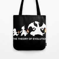 The Theory of Evolution  Tote Bag