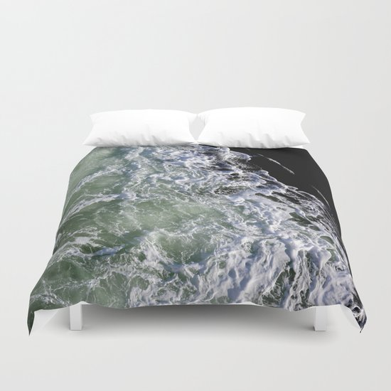 churning waters Duvet Cover