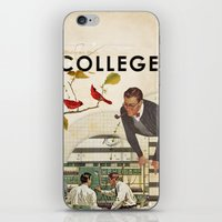 college iPhone & iPod Skins featuring Welcome to... College by Heather Landis