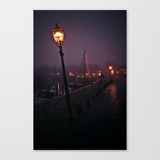 At the Docks Canvas Print