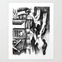 The Sounds of Human life revived  Art Print