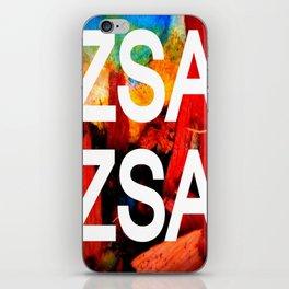 Zsa Zsa (for Craig) iPhone Skin
