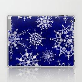 Snowflakes Floating through the Sky Laptop & iPad Skin