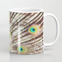 Describe Beauty: Peacock Coffee Mug