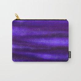 Blue Violet Celestial Bodies Carry-All Pouch