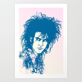 Nick Cave Tribute Art Print