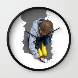 To Live with No Thought for the Future Wall Clock