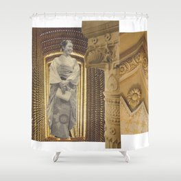 Two-stage column: vacuum Shower Curtain