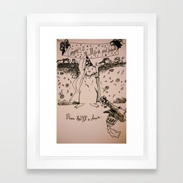 Please R.S.V.P Framed Art Print