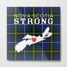 Nova Scotia Strong Metal Print