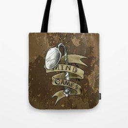 Mind Games Bent Spoon Tote Bag