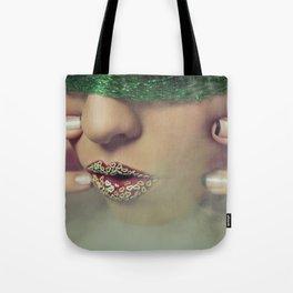 Smoke & Fishnets Tote Bag