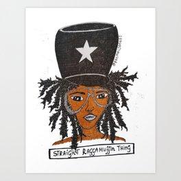 Miss Raggamuffin Art Print
