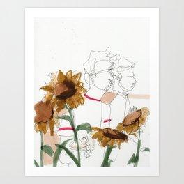 late summer / the things i kept inside Art Print