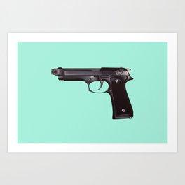 Shoot Something Art Print
