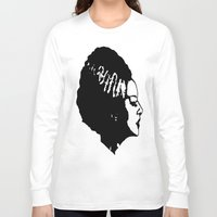 bride Long Sleeve T-shirts featuring Bride by Abstractink82