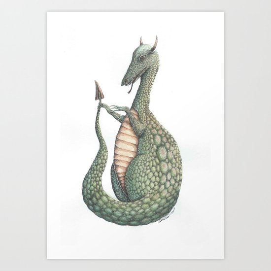 What's This color 2 Art Print