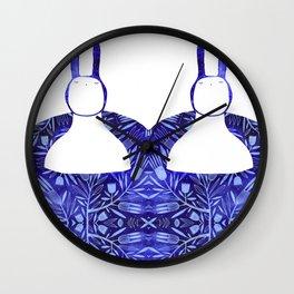 BlueBun Wall Clock